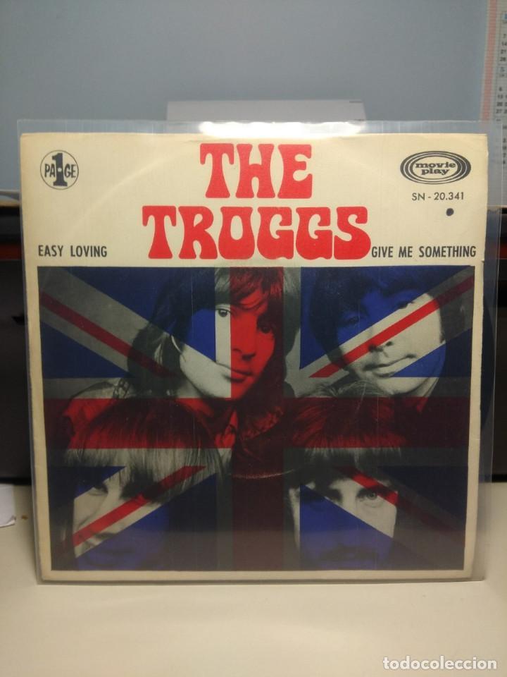 SG THE TROGGS : EASY LOVING (Música - Discos - Singles Vinilo - Pop - Rock Extranjero de los 50 y 60)