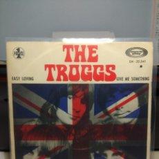 Discos de vinilo: SG THE TROGGS : EASY LOVING . Lote 186431897