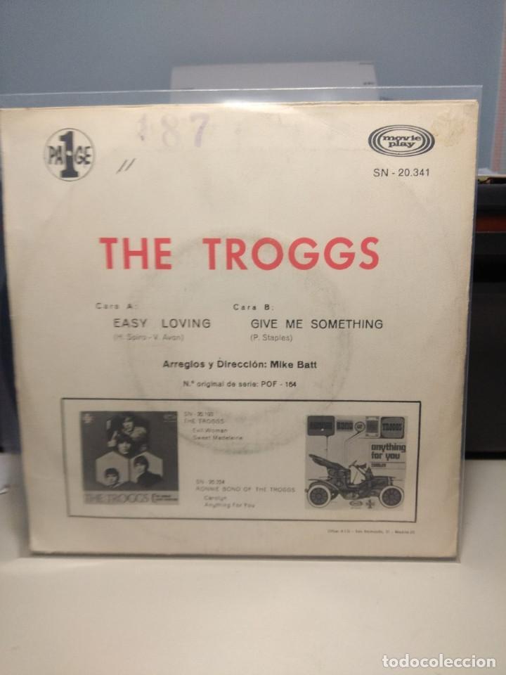 Discos de vinilo: SG THE TROGGS : EASY LOVING - Foto 2 - 186431897