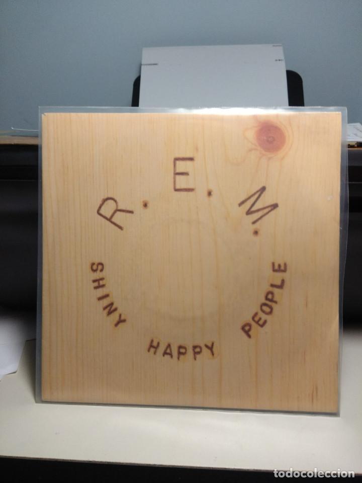 SG R.E.M. : SHINY HAPPY PEOPLE (Música - Discos - Singles Vinilo - Pop - Rock Extranjero de los 90 a la actualidad)
