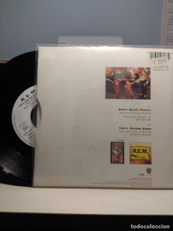 Discos de vinilo: SG R.E.M. : SHINY HAPPY PEOPLE - Foto 2 - 186432328