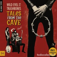 Discos de vinilo: WILD EVEL AND THE TRASHBONES TALES FROM THE CAVE LP . GARAGE PUNK SATELLITERS. Lote 186433351