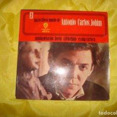 Discos de vinilo: EL MARAVILLOSO MUNDO DE ANTONIO CARLOS JOBIM. SAMBA DEL AVION + 3. EP.HISPAVOX, 1965. IMPECABLE. Lote 186434011