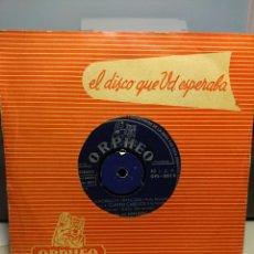 Discos de vinilo: RARISIMO EP DE SERRAMONT Y SU GRAN ORQUESTA MUSETTE : MUCHACHITA DE SORRENTO + 3 . Lote 186434538
