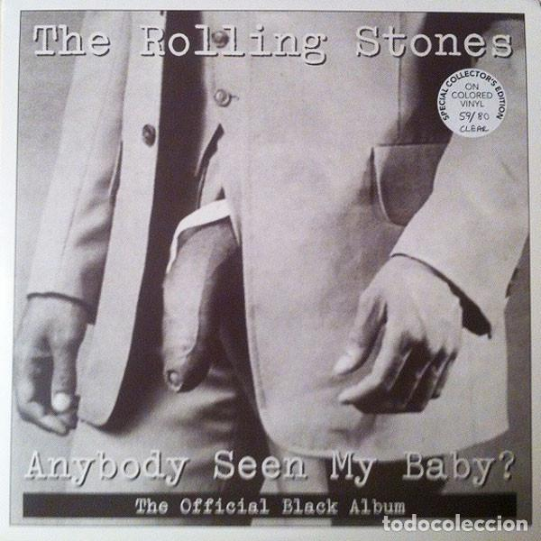 THE ROLLING STONES ANYBODY SEEN MY BABY? (THE OFFICIAL BLACK ALBUM) 2XLP . KEITH (Música - Discos - LP Vinilo - Rock & Roll)