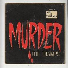 Dischi in vinile: THE TRAMPS: MURDER + 3 -RARO EP DE FONTANA DE 1961- SURF ROCK- BEATLES OPORTUNIDAD. Lote 186440460