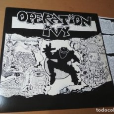 Discos de vinilo: OPERATION IVY ENERGY LP INSERTO U.S.A 1989. Lote 186442670