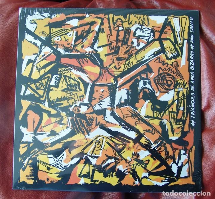 TRIÁNGULO DE AMOR BIZARRO - AÑO SANTO LP REEDICIÓN (Música - Discos - LP Vinilo - Grupos Españoles de los 90 a la actualidad)