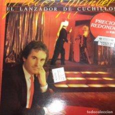 Discos de vinilo: VICTOR MANUEL EL LANZADOR DE CUCHILLOS . Lote 186448382