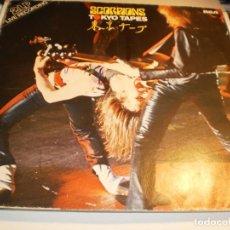 Discos de vinilo: LP 2 DISCOS SCORPIONS. TOKYO TAPES. CARPETA DOBLE. RCA 1978 GERMANY (PROBADOS Y BIEN, LEER). Lote 186450751