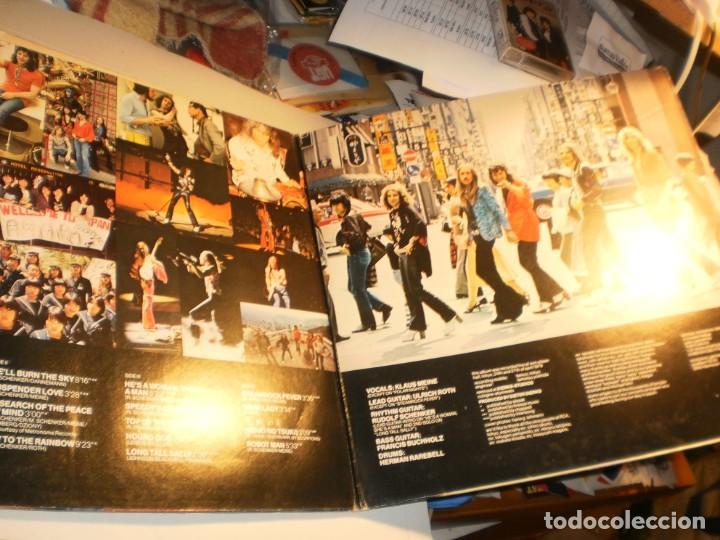 Discos de vinilo: lp 2 discos scorpions. tokyo tapes. carpeta doble. rca 1978 germany (probados y bien, leer) - Foto 3 - 186450751