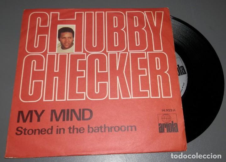 DISCO VINILLO DE CHUBBY CHECKER - DEL AÑO 1971 (Música - Discos - Singles Vinilo - Rock & Roll)
