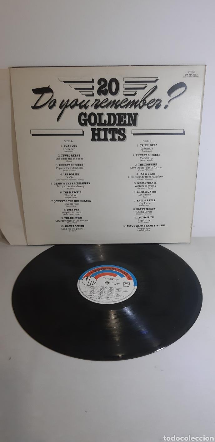 Discos de vinilo: Do you remenber? Golden hits. 20 UN 18122003. VARIOS Rock n Roll. - Foto 2 - 186462330