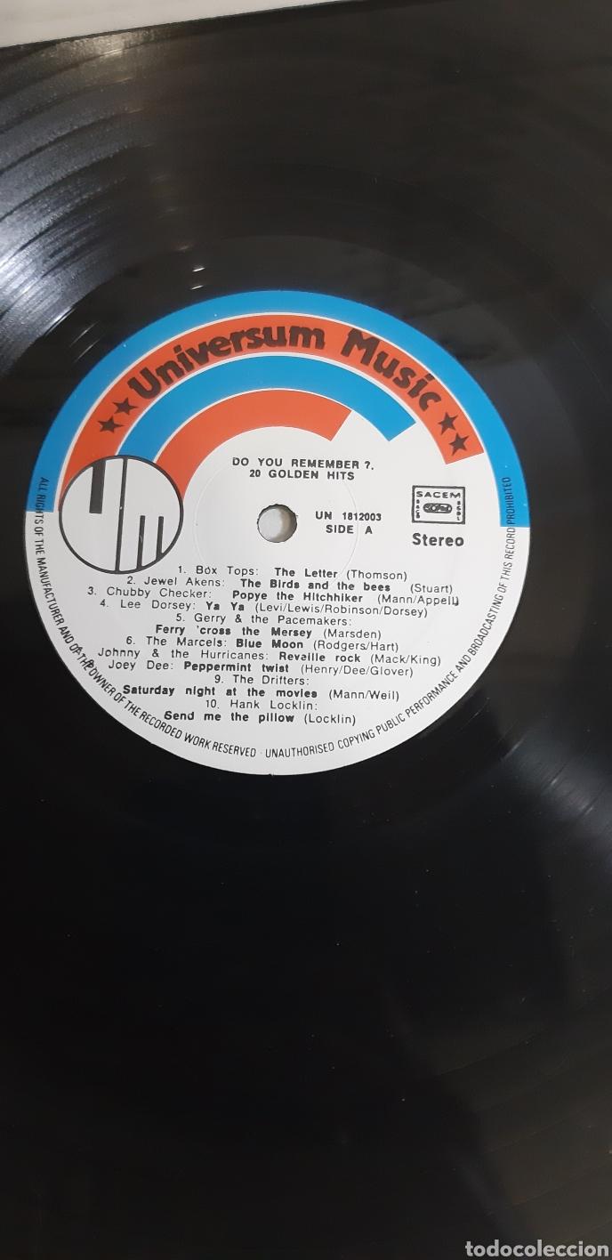 Discos de vinilo: Do you remenber? Golden hits. 20 UN 18122003. VARIOS Rock n Roll. - Foto 3 - 186462330