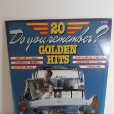 Discos de vinilo: DO YOU REMENBER? GOLDEN HITS. 20 UN 18122003. VARIOS ROCK N ROLL.. Lote 186462330