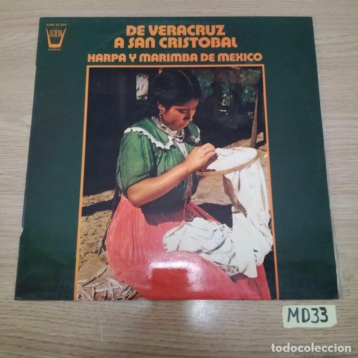 DE VERACRUZ A SAN CRISTÓBAL (Música - Discos - LP Vinilo - Otros estilos)