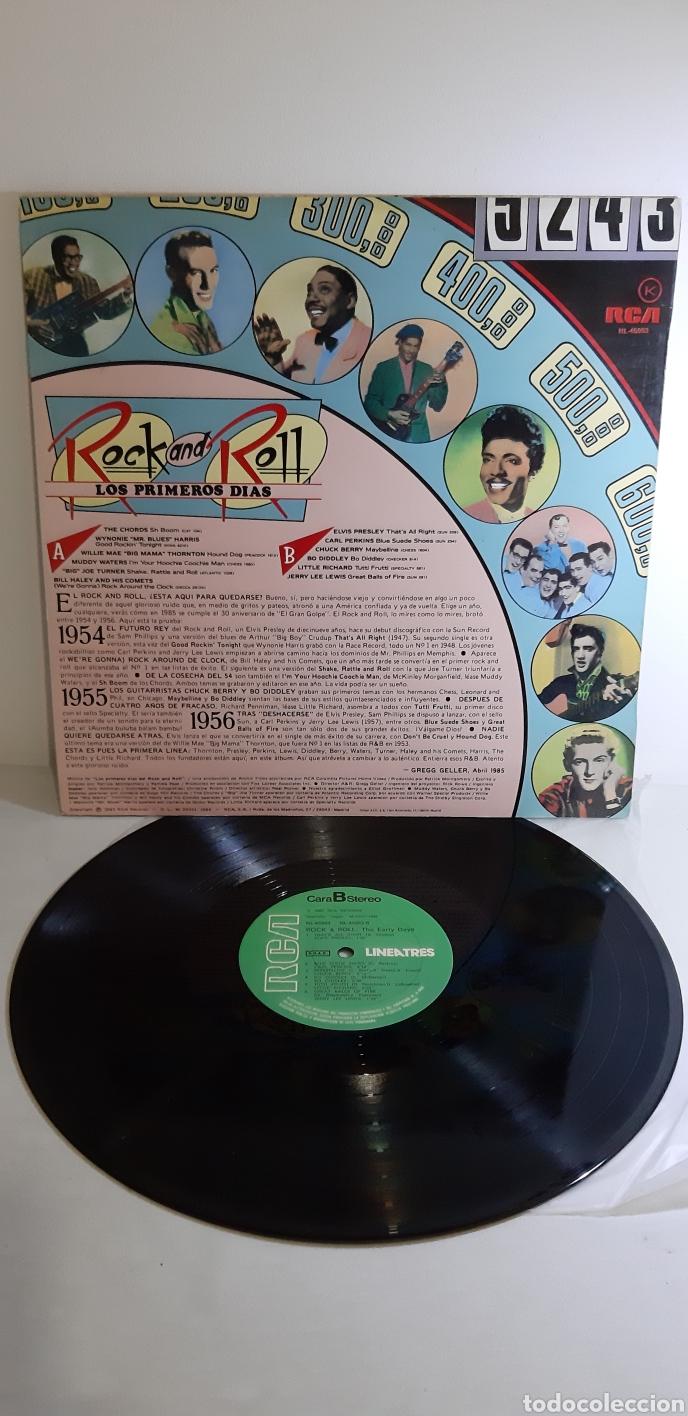 Discos de vinilo: UN LUJAZO. IMPECABLE. Rock & Roll. THE EARLY DAYS. 1985. RCA. LINEATRES. SPAIN. - Foto 4 - 186463957