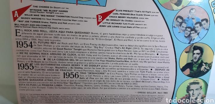 Discos de vinilo: UN LUJAZO. IMPECABLE. Rock & Roll. THE EARLY DAYS. 1985. RCA. LINEATRES. SPAIN. - Foto 5 - 186463957