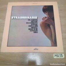 Discos de vinilo: STRAORDINARIO. Lote 186464042