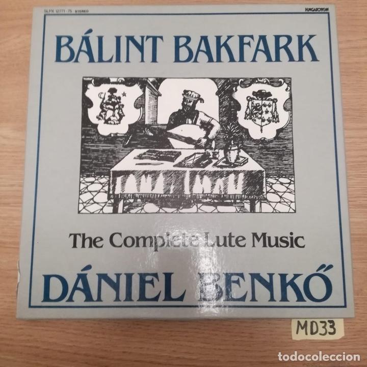 BALINT BAKFARK (Música - Discos - LP Vinilo - Otros estilos)