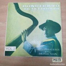Discos de vinilo: CONCIERTO EN LA LLANURA. Lote 186464293