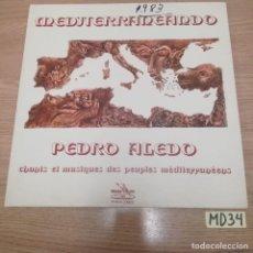 Discos de vinilo: PEDRO ALEDO. Lote 186464552