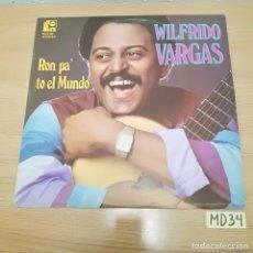 Discos de vinilo: WILFRIDO VARGAS. Lote 186464835