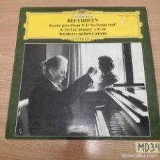 Discos de vinilo: BEETHOVEN. Lote 186464850