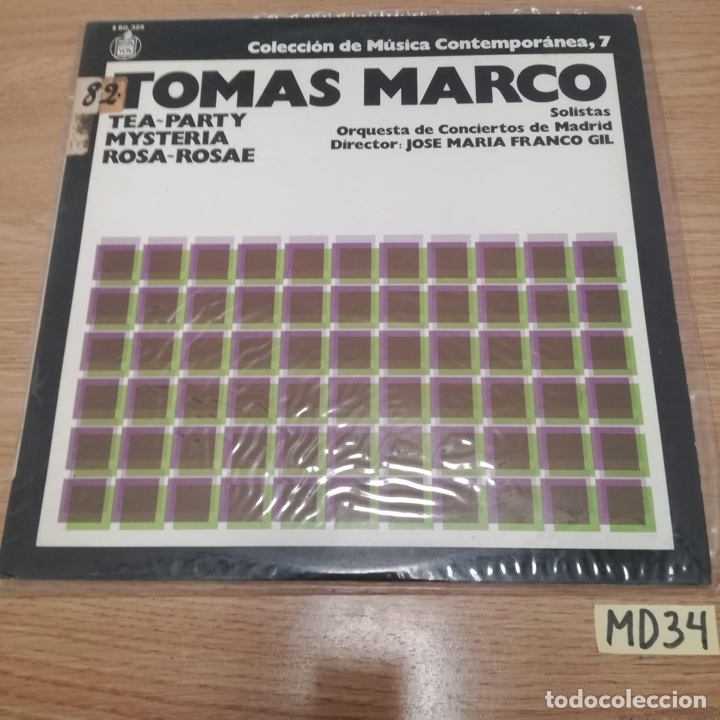 TOMÁS MARCO (Música - Discos - LP Vinilo - Otros estilos)