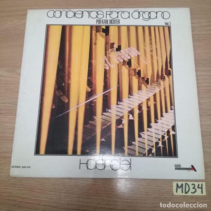 CONCIERTOS PARA ÓRGANO (Música - Discos - LP Vinilo - Otros estilos)