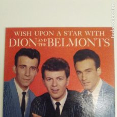 Discos de vinilo: DION AND THE BELMONTS WISH UPON A STAR ( 1961 LAURIE USA ORIGINAL ) DION DIMUCCI. Lote 186464956
