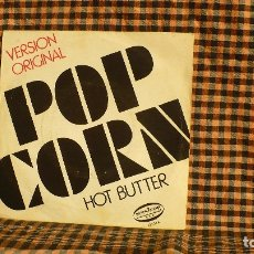 Discos de vinilo: HOT BUTTER -- POP CORN / AT THE MOVIES, 1972, ARIOLA 12.236.. Lote 186589273
