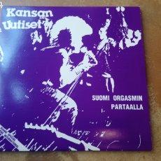 Discos de vinilo: KANSAN UUTISET–SUOMI ORGASMIN PARTAALLA. DOBLE LP VINILO NUEVO. HARDCORE ALEMÁN.. Lote 186734181