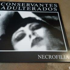 Discos de vinilo: CONSERVANTES ADULTERADOS–NECROFILIA - LP VINILO NUEVO. PUNK ESPAÑOL. EDICIÓN LIMITADA.. Lote 186762200