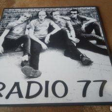 Discos de vinilo: RADIO 77. LP VINILO NUEVO. PUNK DE MADRID.. Lote 186792525