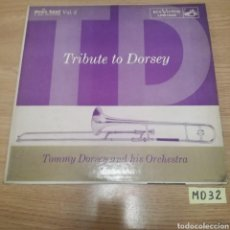 Discos de vinilo: TOMMY DORSEY AND HIS ORCHESTRA. Lote 186871475