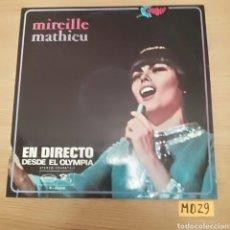 Discos de vinilo: MIREILLE MATHIEU. Lote 187019650