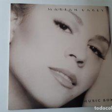 Discos de vinilo: MARIAH CAREY- MUSIC BOX - SPAIN LP 1993 + ENCARTE - VINILO COMO NUEVO.. Lote 187078853
