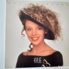 Discos de vinilo: KYLIE MINOGUE- KYLIE - USA LP 1988 + ENCARTE - VINILO COMO NUEVO.. Lote 187079373