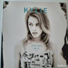 Discos de vinilo: KYLIE MINOGUE- LET´S GET TO IT - SPAIN LP 1991 + ENCARTE - VINILO CASI NUEVO.. Lote 187080048