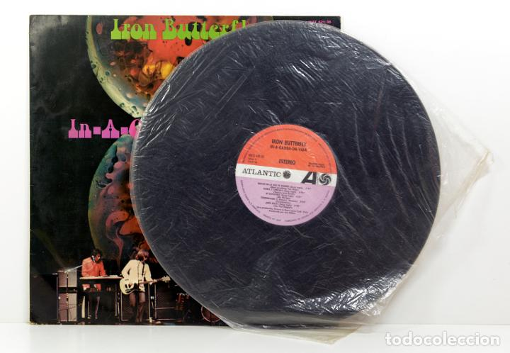 Discos de vinilo: LP IRON BUTTERFLY - IN A GADDA DA VIDA - ATLANTIC - HISPAVOX - MADRID 1977 - Foto 3 - 187081152