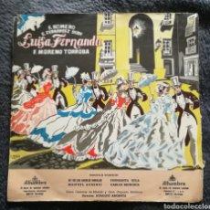 Discos de vinilo: LUISA FERNANDA. MORENA TORROBA. FERNANDEZ SHAW. Lote 187089333