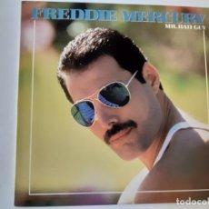 Discos de vinilo: FREDDIE MERCURY- MR. BAD GUY - USA LP REISSUE - QUEEN- RARE LABEL - VINILO COMO NUEVO.. Lote 187089490