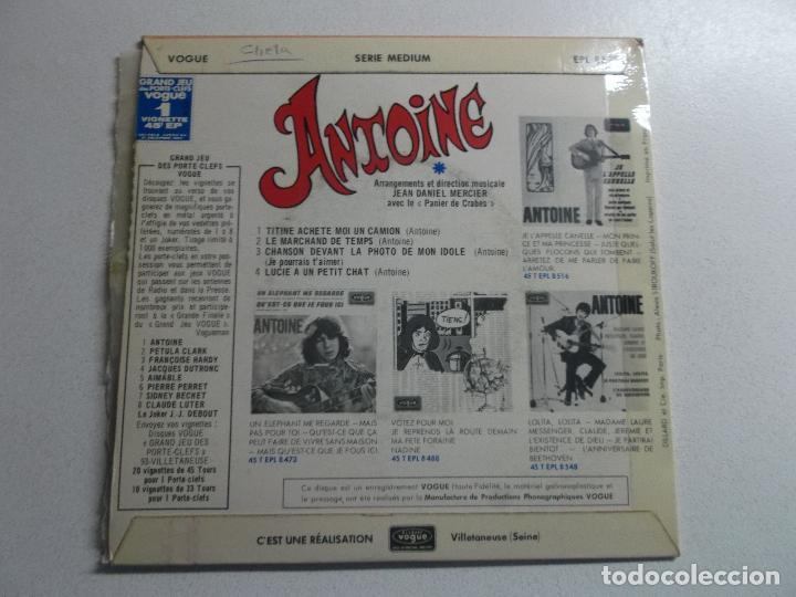 Discos de vinilo: ANTONIE, TITINE ACHETE MOI UN CAMION, 1967 FRANCE - Foto 4 - 187090011