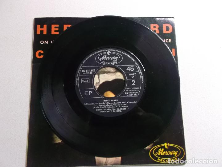 Discos de vinilo: HERVÉ VILARD SINGLE VINILO 1965 CAPRI C´EST FINI ORQUESTA DENJEAN - Foto 2 - 187090813