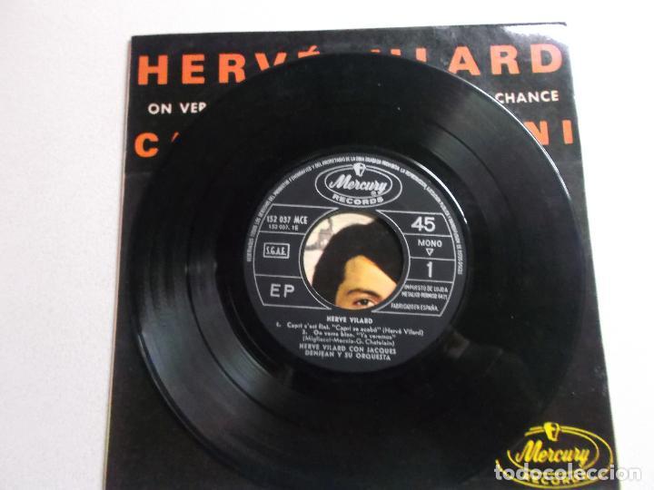 Discos de vinilo: HERVÉ VILARD SINGLE VINILO 1965 CAPRI C´EST FINI ORQUESTA DENJEAN - Foto 3 - 187090813