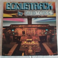 Discos de vinilo: BONUSTRACK BY DAVID CON G – BASIC THEME. Lote 187092722