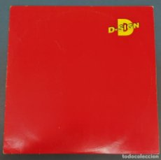Discos de vinilo: D-SIGN - IN THIS WORLD - MAXI 1992 UK - VINILO ROJO. Lote 187096218