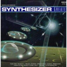 Discos de vinilo: SYNTHESIZER - GREATEST - LP 1990. Lote 187100648