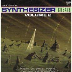Discos de vinilo: SYNTHESIZER - GREATEST. VOLUME 2 - LP 1991. Lote 187100835